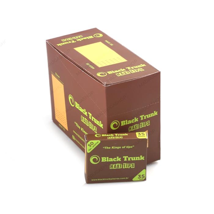 Piteira de Papel Black Trunk Haxi 35mm (Caixa com 20)