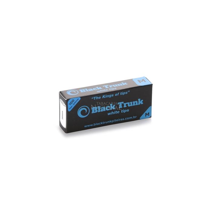 Piteira de Papel Black Trunk Médio - (Caixa com 20)
