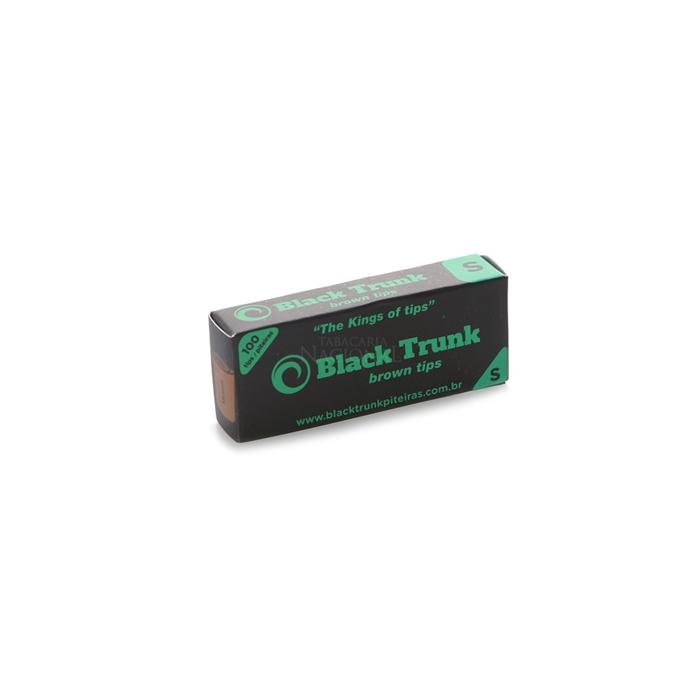Piteira de Papel Black Trunk Pequeno - Brown (Caixa com 20)