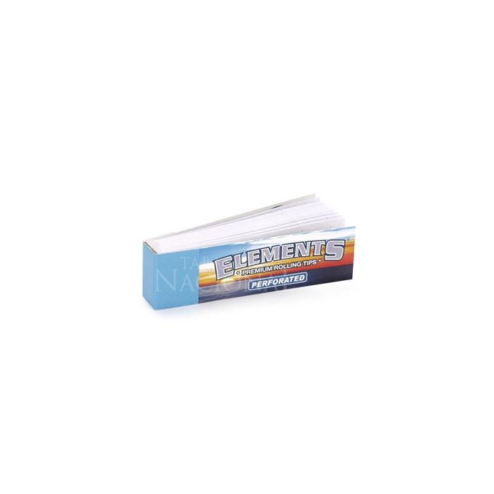 Piteira de Papel Elements - Perforated (Caixa com 50)