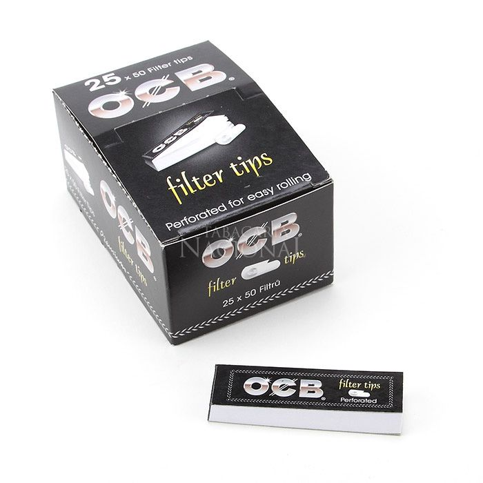 Piteira de Papel OCB (Caixa com 25)
