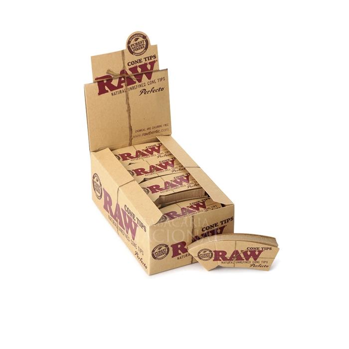 Piteira de Papel RAW - Cone Tips (Caixa com 24)