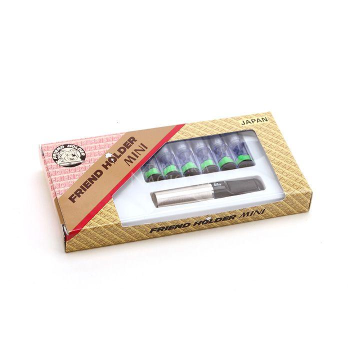 Piteira para Cigarro Comum Friend Holder Mini - Prata