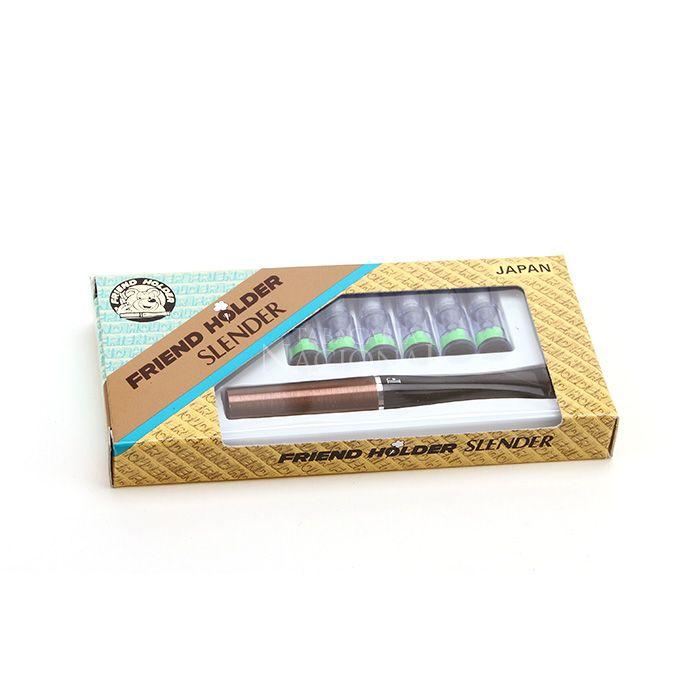 Piteira para Cigarro Comum Friend Holder Slender - Marrom