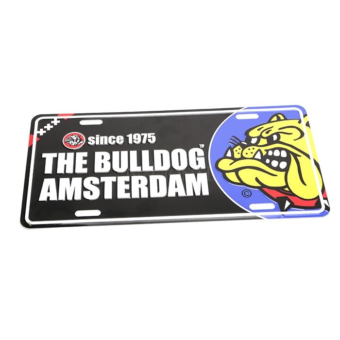 Placa Sinalizadora de Metal - The Bulldog