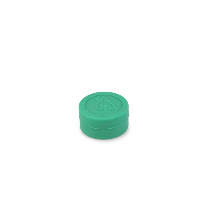 Pote de Silicone Slick com Divisória Grande Squadafum - Cor Sortida