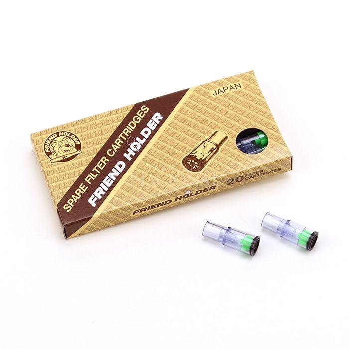 Refil de Piteira para Cigarro Comum Friend Holder (20 Cartuchos)
