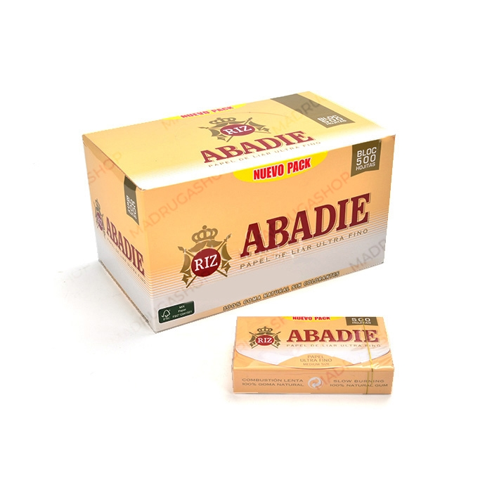 Seda Abadie 1 1/4 com 500 Folhas (Display com 20)