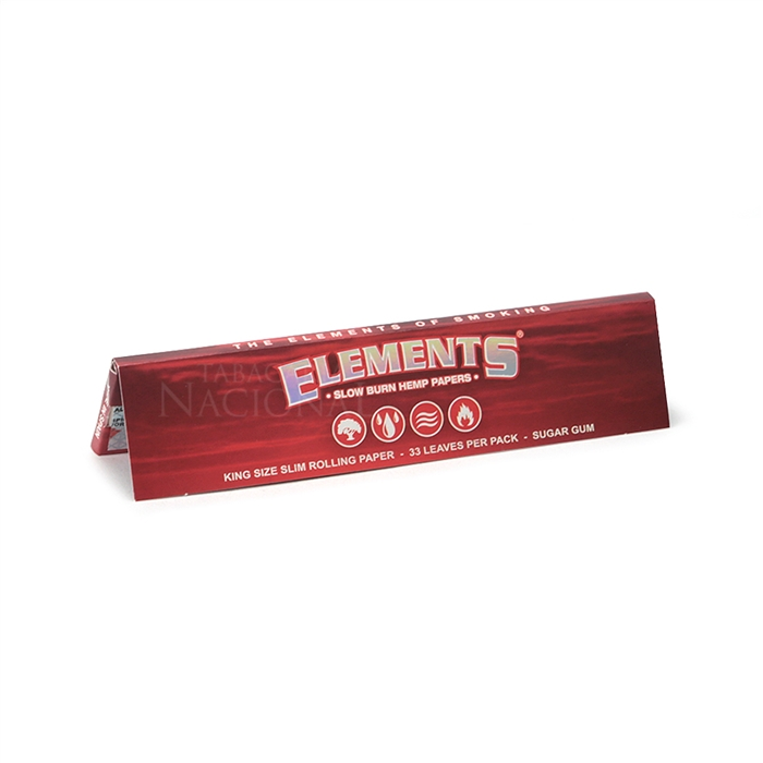 Seda Elements Red King Size Slim (Display com 50)