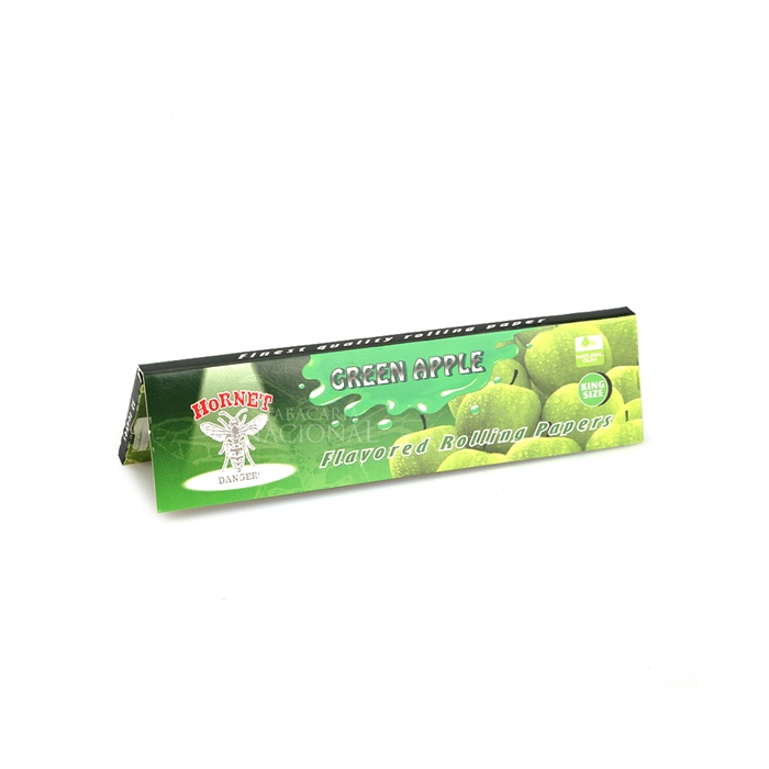 Seda Hornet Sabor Maçã Verde King Size (Display com 25)