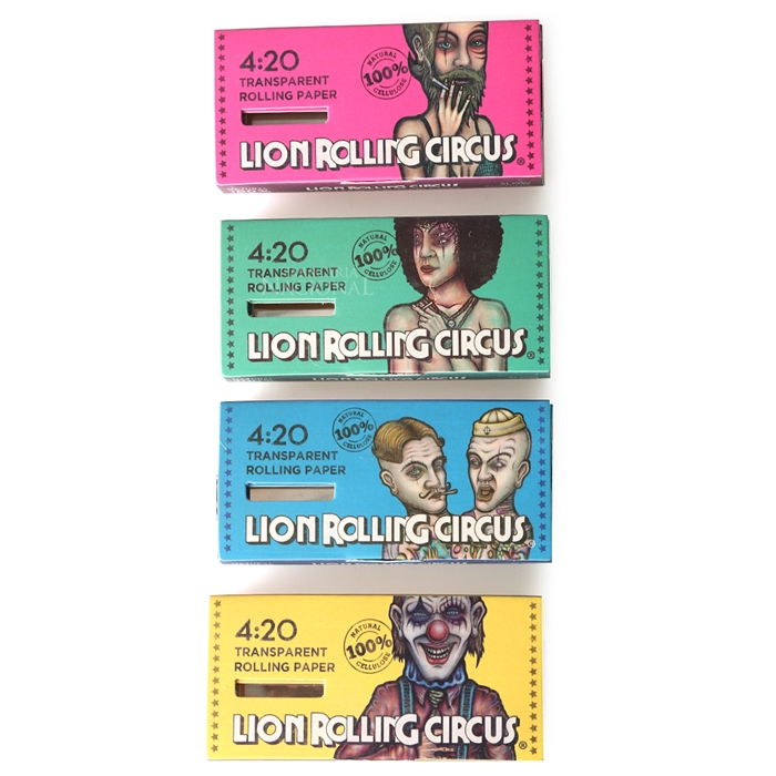 Seda Lion Rolling Circus de Celulose 1 1/4 Block 4.20 (Un.)