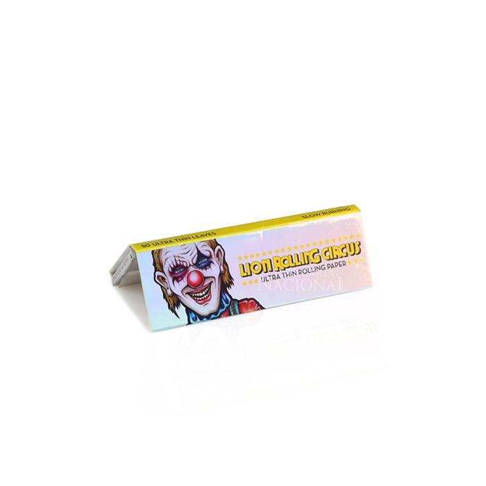 Seda Lion Rolling Circus Slim Ultra Fino 1 1/4 (Display com 25)