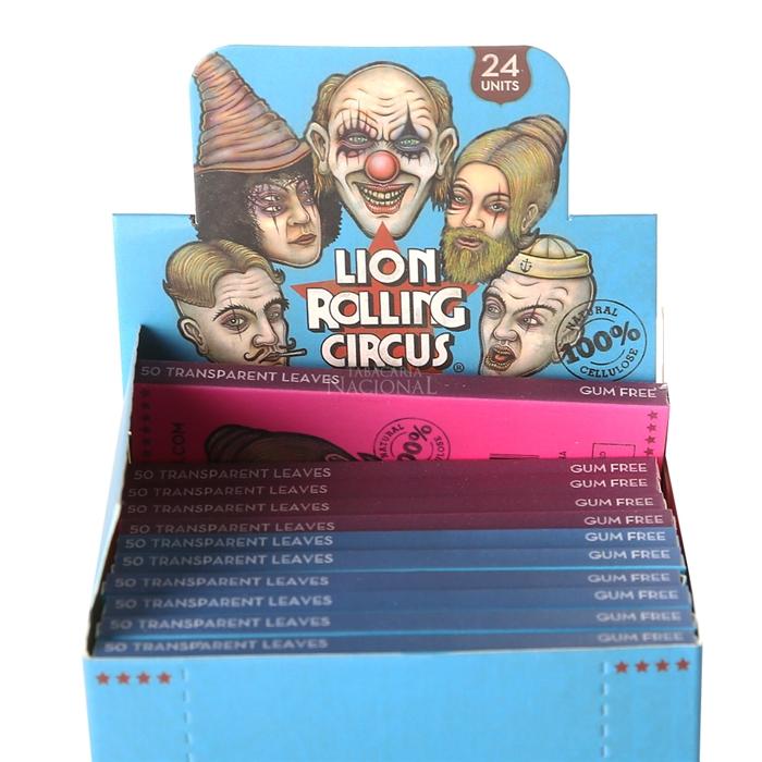 Seda Lion Rolling Circus de Celulose 1 1/4 (Display com 24)