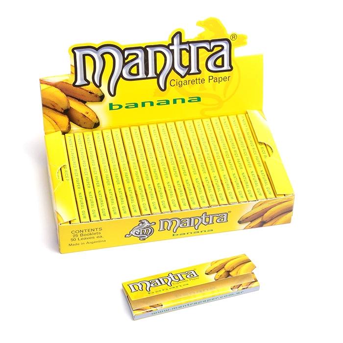 Seda Mantra Sabor Banana 1 1/4 (Display com 25)
