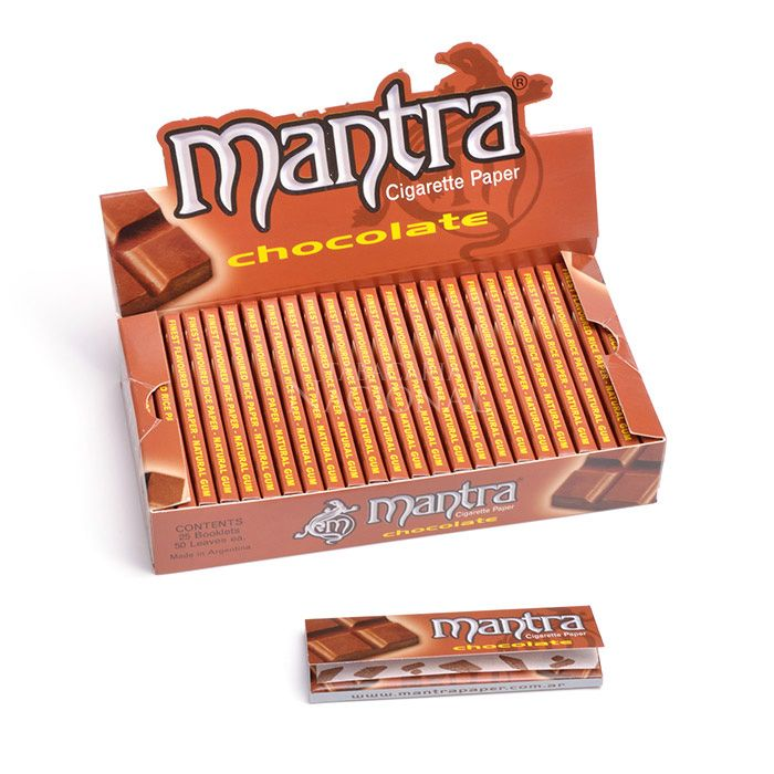 Seda Mantra Sabor Chocolate 1 1/4 (Display com 25)