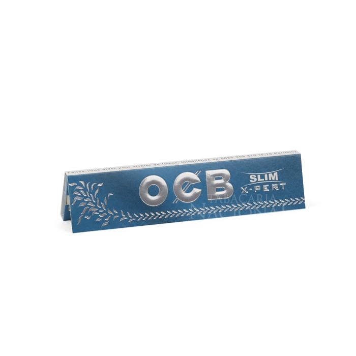 Seda OCB Blue X-Pert Slim King Size (Display com 50)