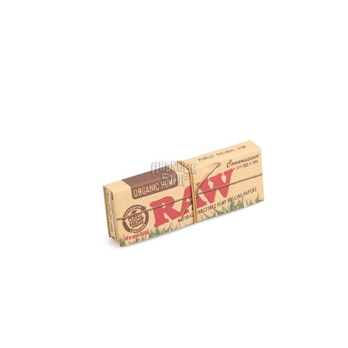 Seda RAW Organic 1 1/4 com Piteira (Display com 24)