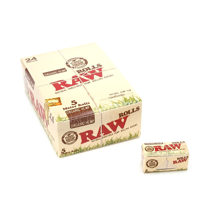 Seda RAW Organic Rolls (Display com 24)
