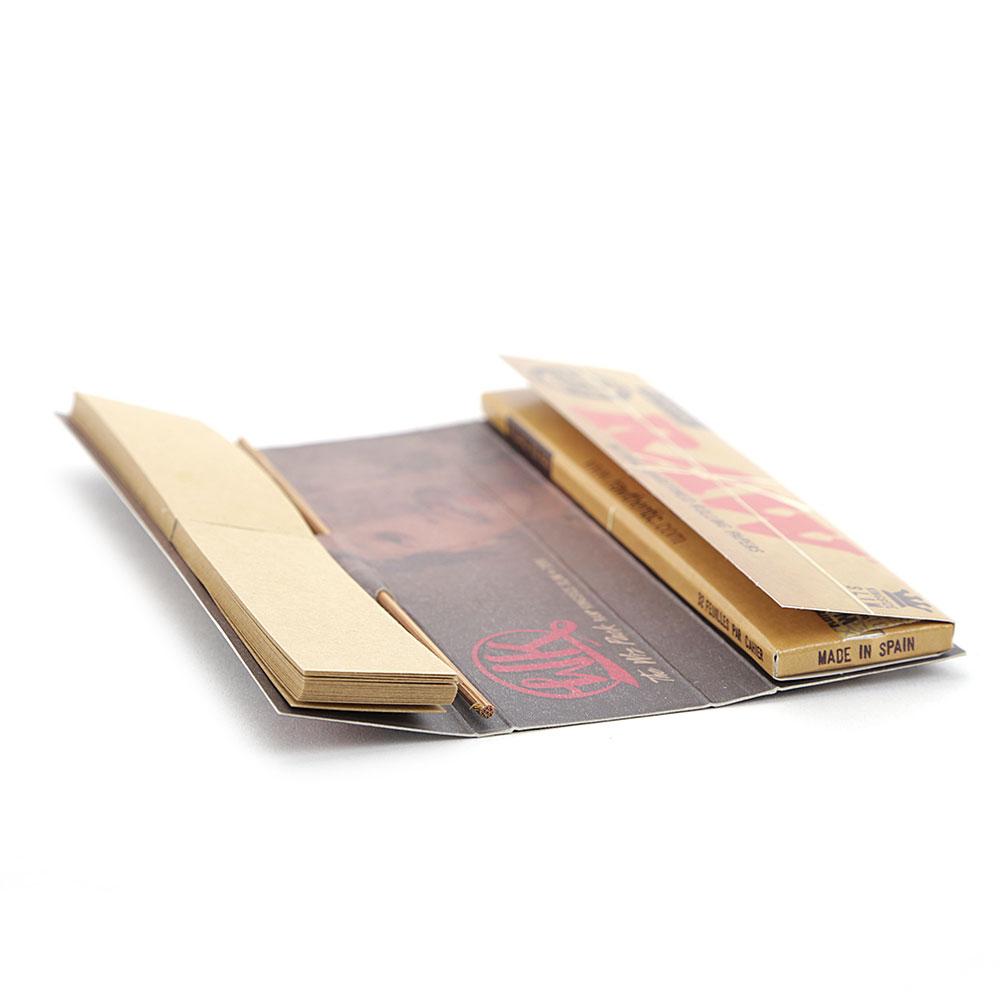 Seda Raw Wiz Khalifa LP King Size com Piteira, Pilão e Bandeja (Un.)
