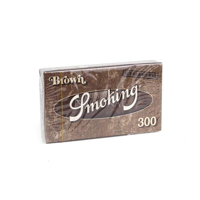 Seda Smoking Brown 1 1/4 com 300 Folhas