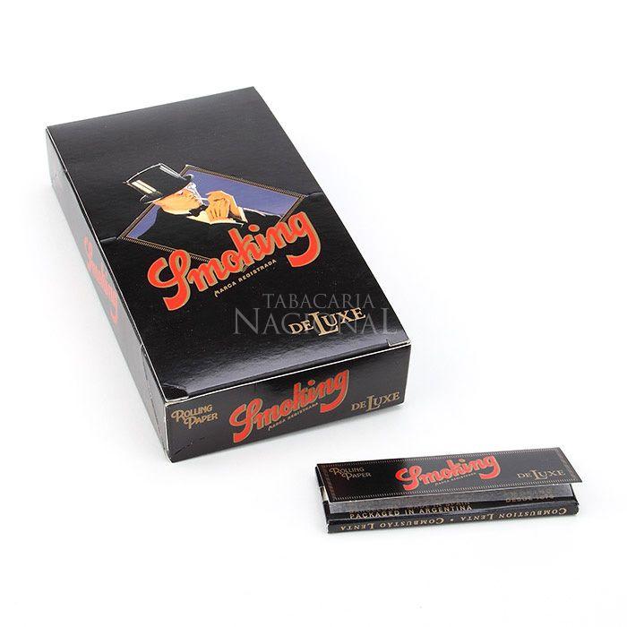 Seda Smoking Deluxe 1 1/4 (Papel de Arroz) (Display com 25)