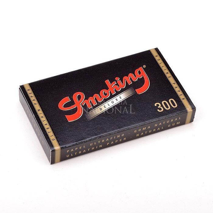 Seda Smoking Deluxe 300 folhas 1 1/4 (Un.)