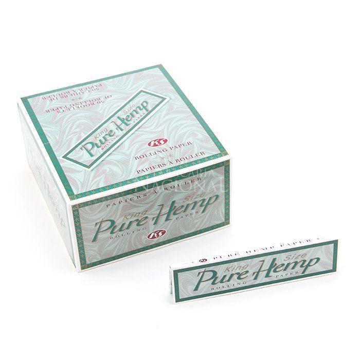 Seda Smoking Pure Hemp King Size (Display com 50)