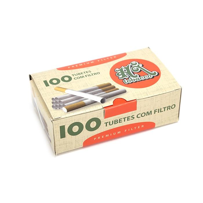Tubo de Papel para Cigarros Hi Tobacco - Cx 100