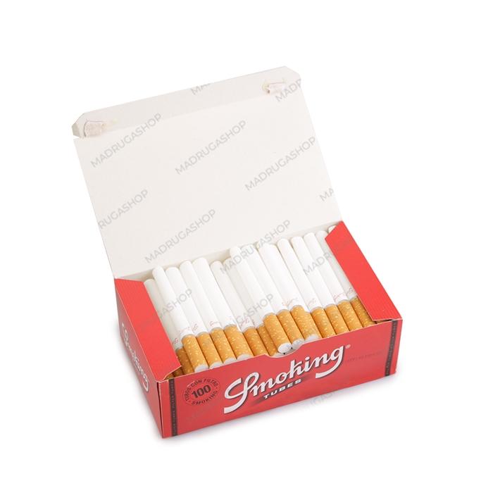 Tubo de Papel para Cigarros Smoking - Cx com 100