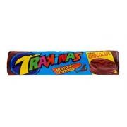 Biscoito Recheado Chocolate Trakinas 136g