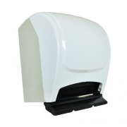 Dispenser Branco para Papel Toalha Bobina Plestin