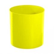 Lixeira Amarela 14L 30X24cm Bralimpia