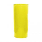 Lixeira Amarela 23L 51X24cm Bralimpia