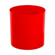 Lixeira Vermelha 14L 30X24cm Bralimpia