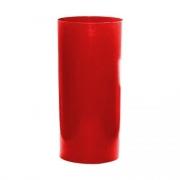 Lixeira Vermelha 23L 51X24cm Bralimpia
