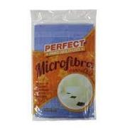 Pano Microfibra azul para chão 50X60cm Perfect