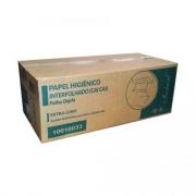 Papel Higiênico Interfolha (cai cai) Folha Dupla 9,6X20,5cm Indaial