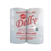 Papel Higiênico Rolão 8cmX300m Delly