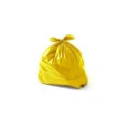 Saco de Lixo amarelo 60L(100 unidades)