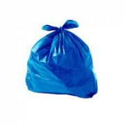 Saco de Lixo azul 101L (100 unidades)