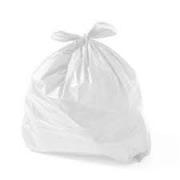 Saco de Lixo branco 20L (100 unidades)