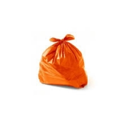 Saco de Lixo laranja 150L (100 unidades)