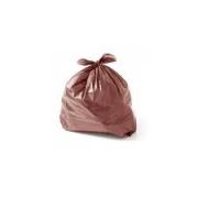 Saco de Lixo marrom 40L (100 unidades)