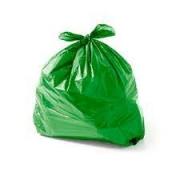 Saco de Lixo verde 60L (100 unidades)