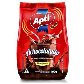Achocolatado em pó Apti Sachê 400g