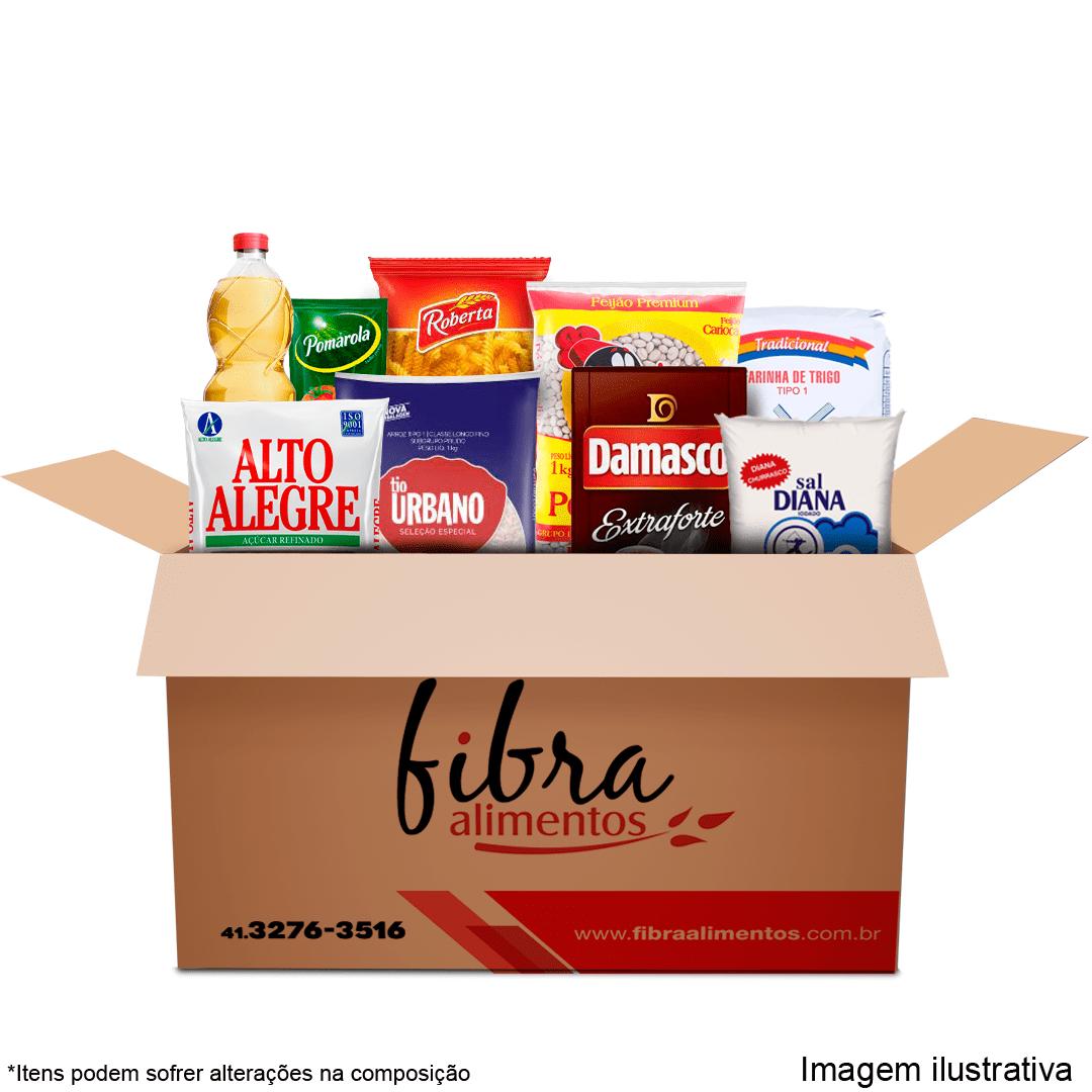 Cesta Básica de Alimentos para Doação M - 15 Itens