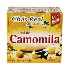 Chá Camomila Multiervas Real 10g