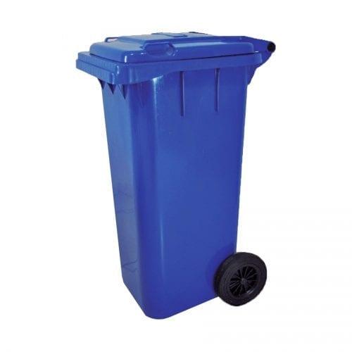 Coletor de Lixo Gari 120L com roda Bralimpia