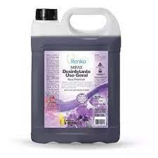 Desinfetante Concentrado 5 litros Rose Premium Mirax