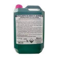 Hipoclorito de Sódio 5% Quimibel/Da Casa 5L